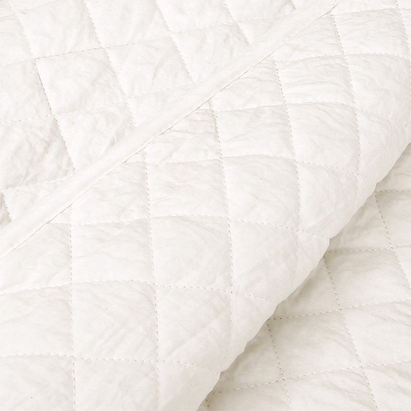 washed wrinkle quilt set and bedpspread
