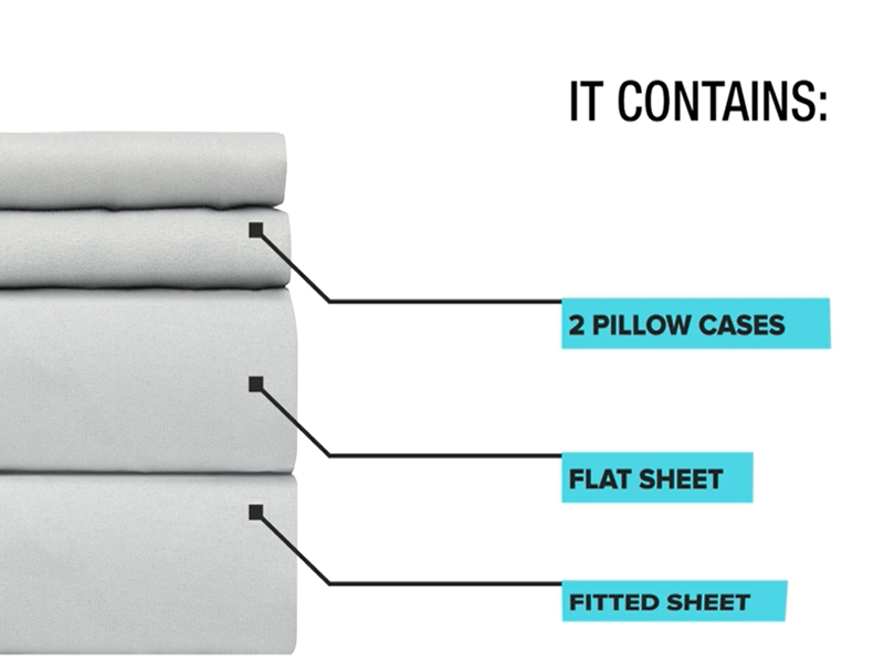 bed sheet 4pc set