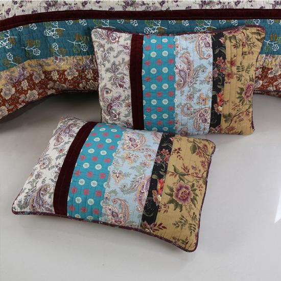 How to Sew a Quilted Patchwork Pillow Cover