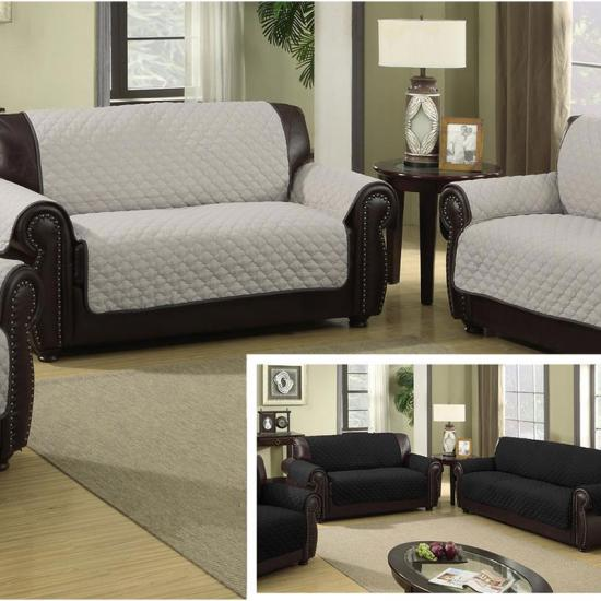 Comfort Quilted Reversible Sofa Protector