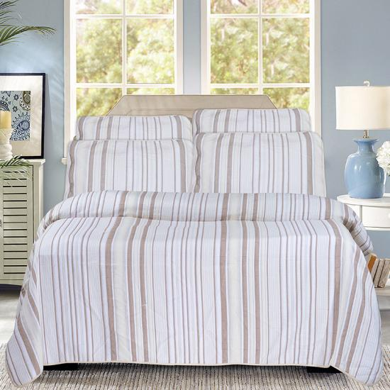 yarn dye stripe bedding