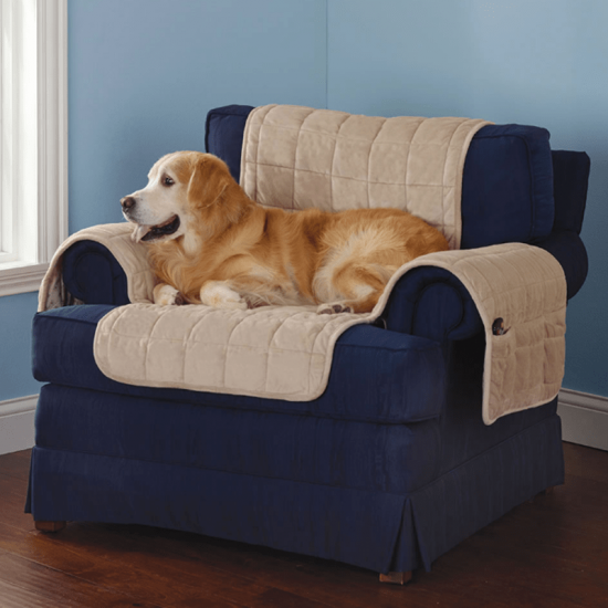 quilted dog couch protector covers