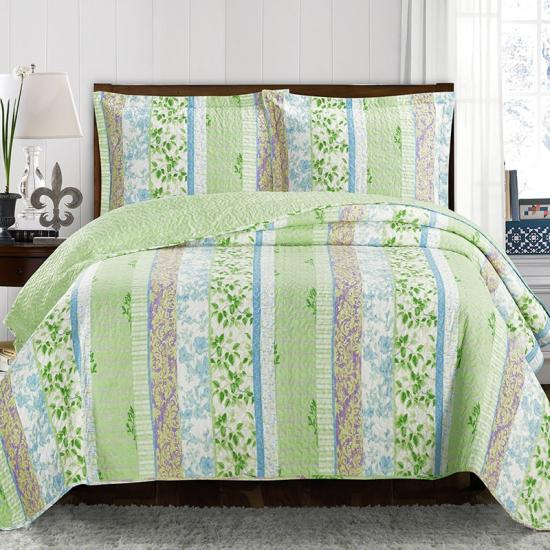 washed linen pinsonic bedspread