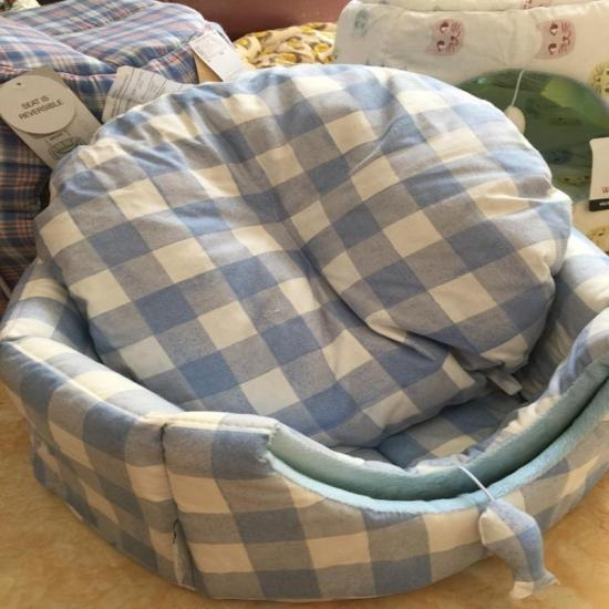 quilted pet sofa bed